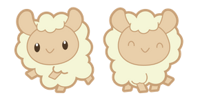 Cute Sheep Curseur