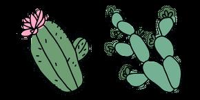 Hand-Drawn Cactus Curseur