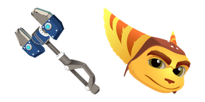 Ratchet & Clank Ratchet OmniWrench Cursor