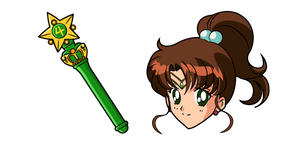 Sailor Moon Sailor Jupiter Cursor
