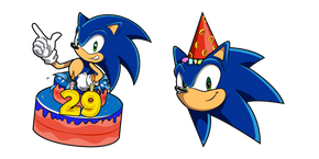Sonic the Hedgehog 29th Birthday Curseur