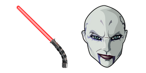 Star Wars Asajj Ventress Lightsaber Cursor