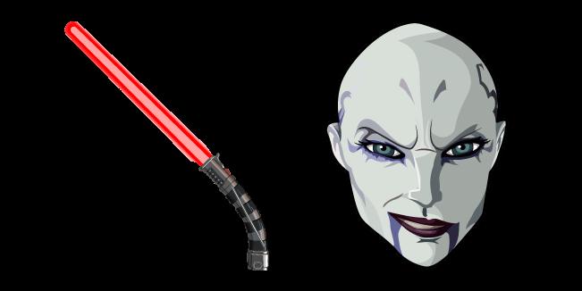 Star Wars Asajj Ventress Lightsaber