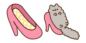 Stormy and Pink Shoe Cursor