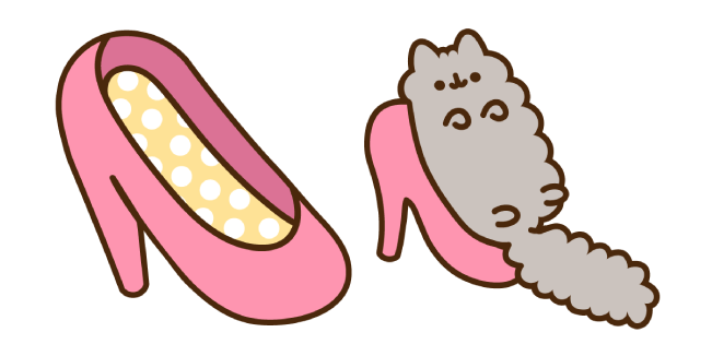 Stormy and Pink Shoe