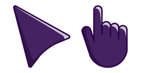 Dark Purple Cursor