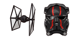 Star Wars First Order Special Forces TIE Pilot Curseur