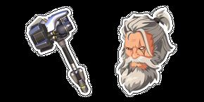 Overwatch 2 Reinhardt Rocket Hammer Cursor