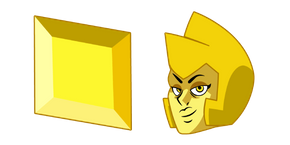 Steven Universe Yellow Diamond Cursor