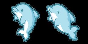 Cute Dolphin Curseur