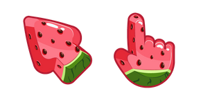 Materials Watermelon Cursor