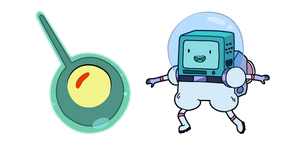 Adventure Time Olive and Astronaut BMO Curseur