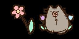 Pusheen and Flower Cursor
