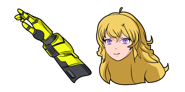 RWBY Yang Xiao Long and Dual Ranged Shot Gauntlets