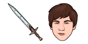 Percy Jackson and Riptide Sword Cursor