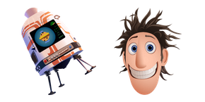 Cloudy with a Chance of Meatballs Flint and FLDSMDFR Curseur
