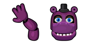 Five Nights at Freddy's Mr. Hippo Cursor