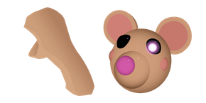 Курсор Roblox Piggy Mousy