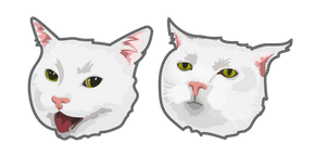 Serious Cat Meme Cursor
