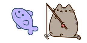 Pusheen Fishing