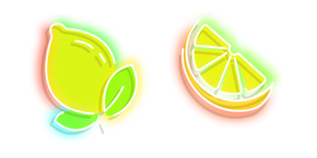 Yellow Lemon Neon Cursor