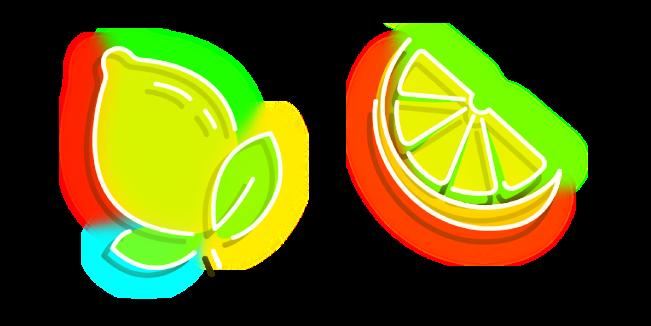 Неоновый Желтый Лимон
