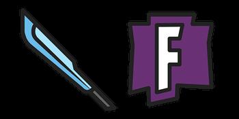 Fortnite Slice n' Dice Sword  Curseur