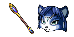 Star Fox Krystal Staff Cursor