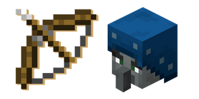 Minecraft Bow and Illusioner
