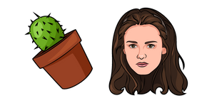 Twilight Bella Swan and Cactus Cursor