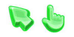 Materials Green Jelly Cursor