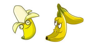 Plants vs. Zombies Banana Launcher Cursor