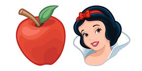 Snow White and Poisoned Apple Curseur