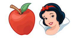Snow White and Poisoned Apple Cursor
