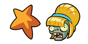 Plants vs. Zombies Bikini Zombie Cursor