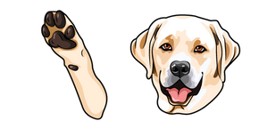 Labrador Retriever Dog Cursor