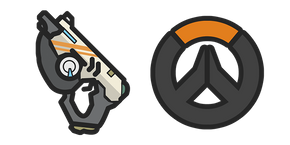Курсор Overwatch Tracer's Pulse Pistol