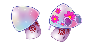Plants vs. Zombies Hypno-Shroom Cursor
