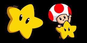 Super Mario Toad Curseur