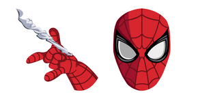 Spider-Man Shooting Web Cursor