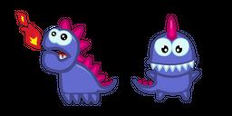 Cute Purple Dragon Cursor