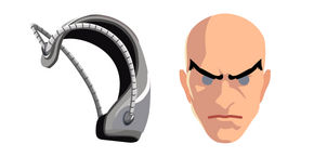 Professor X Charles Xavier and Cerebro Cursor