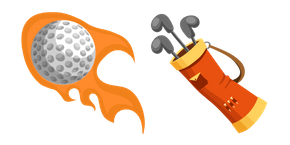 Курсор Golf Bag and Ball