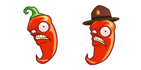 Plants vs. Zombies Jalapeno Cursor