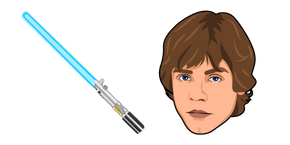 Star Wars Luke Skywalker Lightsaber Cursor