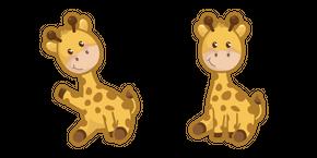 Cute Giraffe Curseur