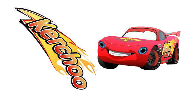 Lightning Mcqueen S Kerchoo Cursor Custom Cursor Browser Extension