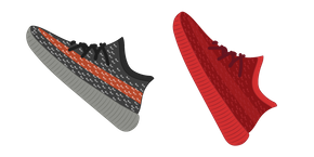 Yeezy Style Sneakers Cursor