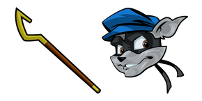 Sly Cooper and Cane Cursor