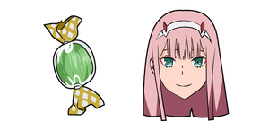 Darling in the Franxx Zero Two Curseur